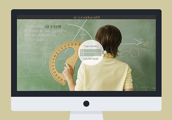 Site Internet Dynamique pour des cours de maths en direct et Forum de discussion